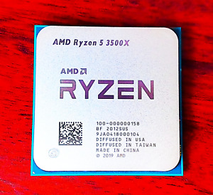 AMD Ryzen 5 3500X 6 Core CPU - 3.6GHz Base | 4.1GHz Boost AM4 X570 65W US Seller