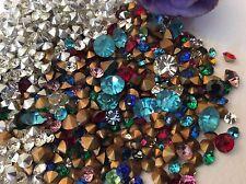 Swarovski Tchèque Strass Bijoux 300 mixte couleur or/argent déjouée Réparation