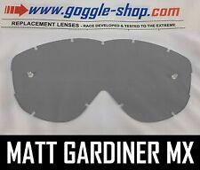 Goggle-shop Lente Para Spy Alloy / Targa 2 Motocross Gafas luz gris humo tinte