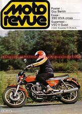 MOTO REVUE 2435 GUZZI V50 II 500 HUSQVARNA 390 CR YAMAHA XS 1100 Guy BERTIN 1979