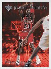Michael Jordan 1997 UD TRIBUTE IMPRESSIONS EYE POPPING Jump Shoot Card #MJ42
