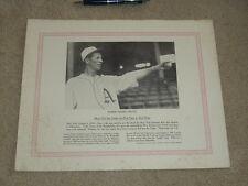 1929 - 1933 Blum's Baseball Bulletin Lefty Grove Premium