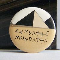 Rare Vintage Pin Metal Pinback 1980s 80s Retro Pop The Police Sting Zenyatta