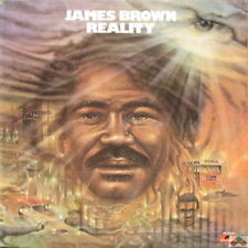 """James Brown Reality (Funky President, Check your body) 1974 signifiant 12"""" LP"""