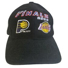 2000 NBA Finals Logo Athletic Pacers Vs Lakers Vintage Men's adjustable