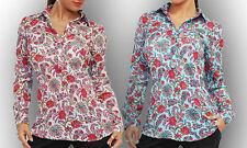 Geblümte klassische Damenblusen, - Tops & -Shirts für die Freizeit