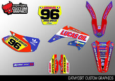 TO FIT HONDA CR 125 250 2002 - 2007 GRAPHICS KIT MX DECALS MOTOCROSS STICKERS