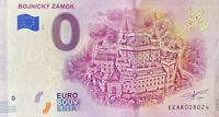 BILLET 0  EURO BOJNICKY ZAMOK SLOVAQUIE  2018  NUMERO DIVERS