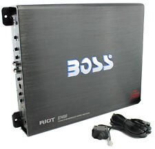 BOSS R3400D Riot 3400W Mono Block Class D Car Audio Power Amplifier Amp + Remote