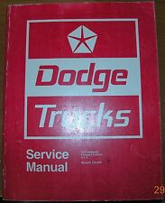 NICE Mopar 71 Dodge Service Manual Truck 72 73 74 100 200 300 400 500 600 to 800