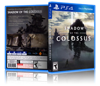 Shadow Of The Colossus - Replacement PS4 Cover and Case. NO GAME!!