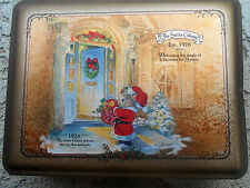The Swiss Colony Christmas Tin.  Anniversary 75 years,Est. 1926, Chocolates Box