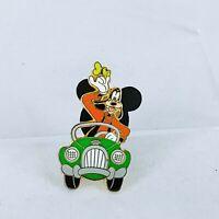 WDW 2001 Travel Company Goofy Driving a Car Disney Pin 4598