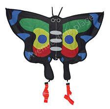 Cerf volant papillon monofil 90x80 cm, prêt à voler, à partir de 4 ans Neuf
