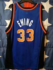 SIZE 48 New York Knicks NBA Basketball Shirt Jersey Champion Ewing #33