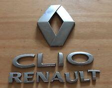 RENAULT Clio Posteriore Badge Logo Emblema 8200469132 (A71)
