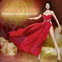 ANDREA BERG - DIESE NACHT IST JEDE SÜNDE WERT   CD SINGLE NEU