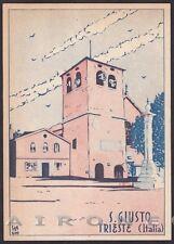 TRIESTE CITTÀ 157 Ed. CENTRO IT. FEMMINILE a favore FANCIULLI GIULIANI Cartolina