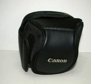 Genuine Canon Black Bag Pouch Case for Canon DSRL and Powershot cameras