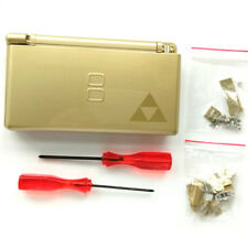 Gold Housing Shell Case Replace Part Repair Cover for Nintendo DS Lite NDSL DSL