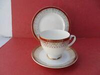 Royal Grafton, Majestic (Red) - 1 x Tea Trio (Teacup, Saucer & Teaplate)