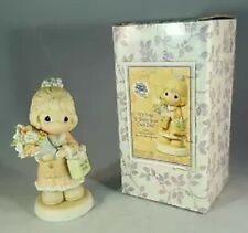 Precious Moments Figurine c0022 Mib It's Time To Bless Your Own Day