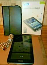 Samsung Galaxy Tab 2 7.0 Tablet original Box and Case, USB Cable, Works
