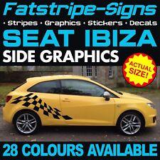 SEAT IBIZA GRAPHICS STICKERS STRIPES DECALS SPORT CUPRA R FR GTI TDI 1.4 1.6 2.0