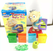 Nickelodeon Rugrats Tommy'S Reptar Ring Toss Game 1999, With Box