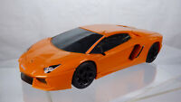 Airfix Quick Build Lamborghini Aventador LP700-4 Orange Plastic Toy Car 1:24