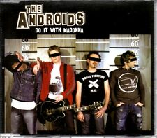 THE ANDROIDS - DO IT WITH MADONNA - RARE PROMO CD SINGLE - MINT