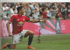 "Alexis Sanchez Manchester Utd  12x8"" unsigned photo ref 1004"