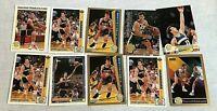 10 Sarunas Marciulionis Basketball Cards Fleer Topps Skybox Upper Deck NBA Lot