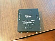 Mxr Mc406 Custom Audio Electronics Cae Buffer Guitar Pedal