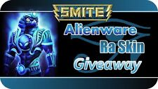 SMITE ALIENWARE RA SKIN CODE *INSTANT DELIVERY* PAX CONVENTION EXCLUSIVE 2015