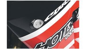 Hot Bodies Clear Flushmount Turn Signal Marker Light For 01-06 Honda CBR 600 F4i