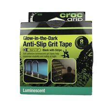 Croc Grip Anti Slip Grip Tape Glow in the Dark.16.4 ft Roll.