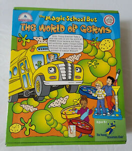 The Magic School Bus: The World of Germs - Science Experiment Kit SEALED
