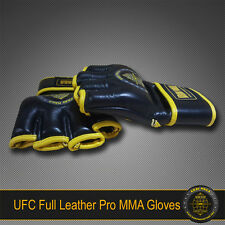 KRAV MAGA PRO UFC MMA LEATHER GLOVES L LARGE - Unisex Men or Women