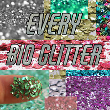 Biodegradable Glitter - Entire Collection of All sizes, All Colours, All Mixes