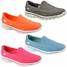 GOwalk 2 Slip On Textile Trainers for Women