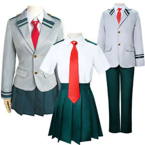 My Hero Academia Boku Kohei AnimeOutfit Cosplay Costume School Uniform Women Men