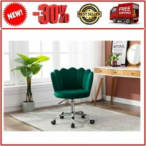 Green chair for living room Bedroom, Relaxing office chair, Green