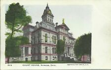 Old Vintage Court House In Newark Ohio Postcard