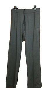 Mens Lululemon Athletica Gray Activewear Pants Jogging•Running•Casual Size LTall