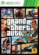 GRAND THEFT AUTO V 5 FIVE - GTA 5 - Very Good - XBOX 360 - 1ST CLASS DELIVERY