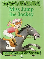Happy Families- Miss Jump The Jockey by Allan Ahlberg (paperback)