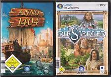 Die Siedler 6 Aufstieg Eines Königreichs + ANNO 1404  Sammlung PC Spiele
