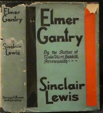 Lewis, Sinclair.  Elmer Gantry.  First Edition, First State.