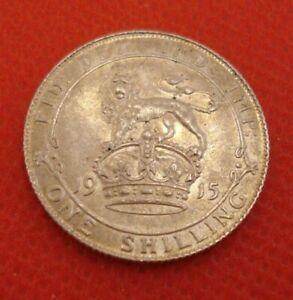 British Shilling 1915 nEF